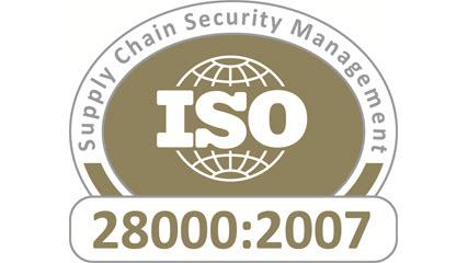 Сертификат ISO 28000